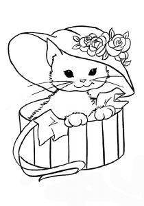 raskraski-dlya-devochek-do-4-let-kotenok-210x300