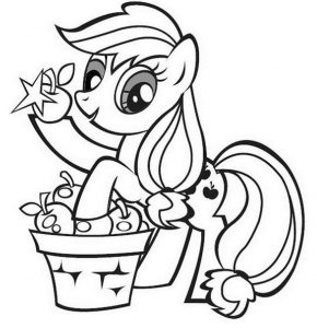 raskraski-dlya-devochek-do-4-let-poni-290x300