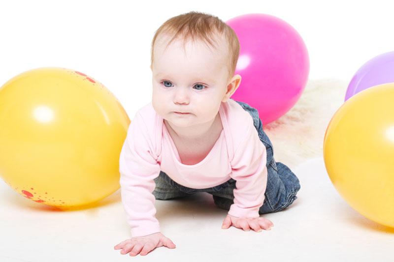 Картинка развитие малыша 6 месяцев