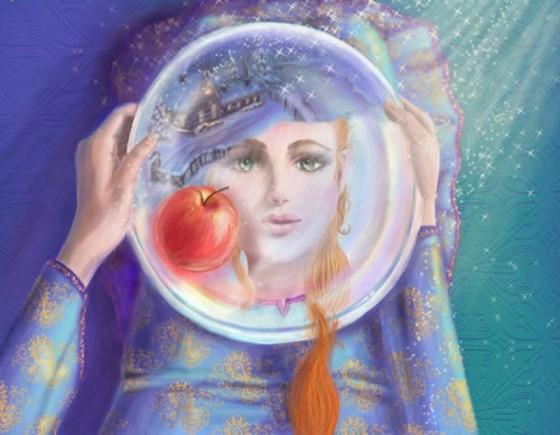 сказка серебрянное блюдечко и наливное яблочко